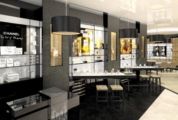 Первый европейский бьюти-бутик Chanel - Фото №3