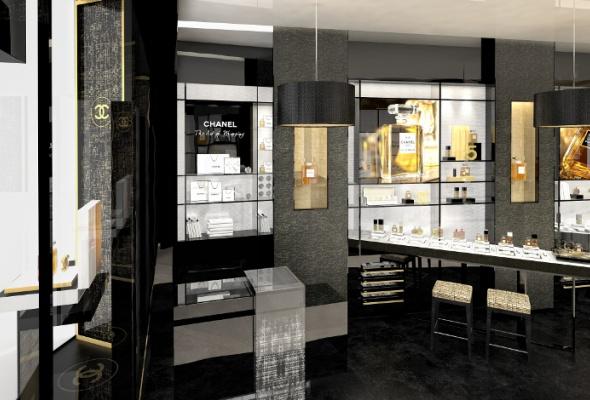 Первый европейский бьюти-бутик Chanel - Фото №4