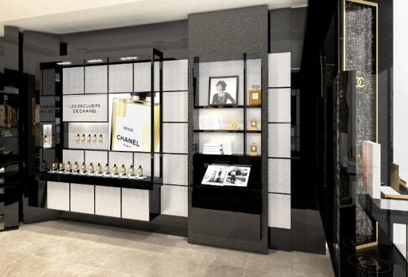 Первый европейский бьюти-бутик Chanel - Фото №5