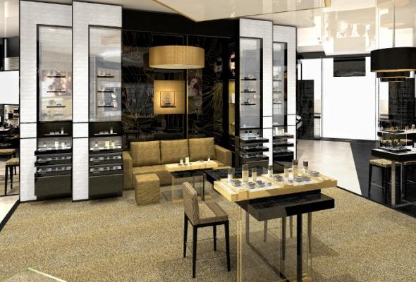 Первый европейский бьюти-бутик Chanel - Фото №6