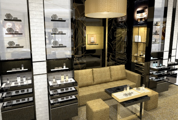 Первый европейский бьюти-бутик Chanel - Фото №7