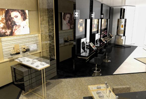 Первый европейский бьюти-бутик Chanel - Фото №8