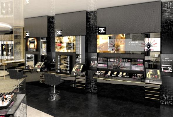 Первый европейский бьюти-бутик Chanel - Фото №9