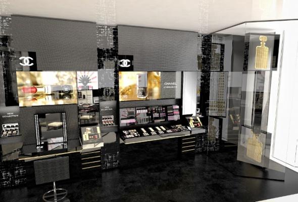 Первый европейский бьюти-бутик Chanel - Фото №10