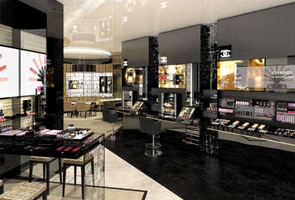 Первый европейский бьюти-бутик Chanel - Фото №11