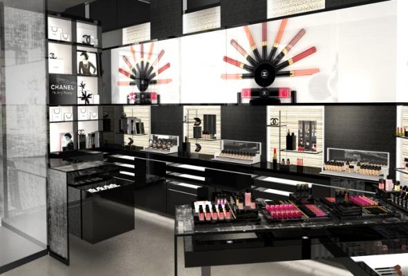 Первый европейский бьюти-бутик Chanel - Фото №14