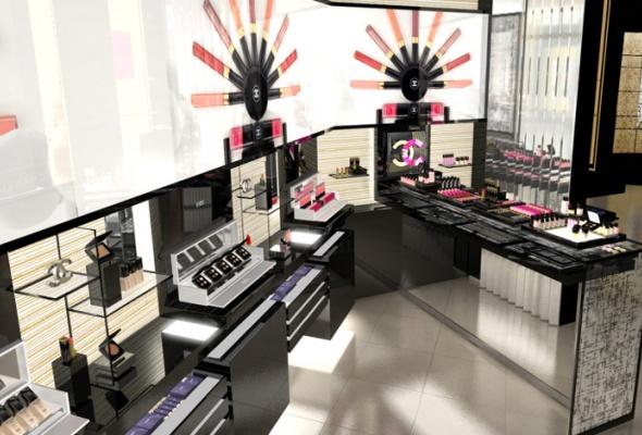Первый европейский бьюти-бутик Chanel - Фото №15