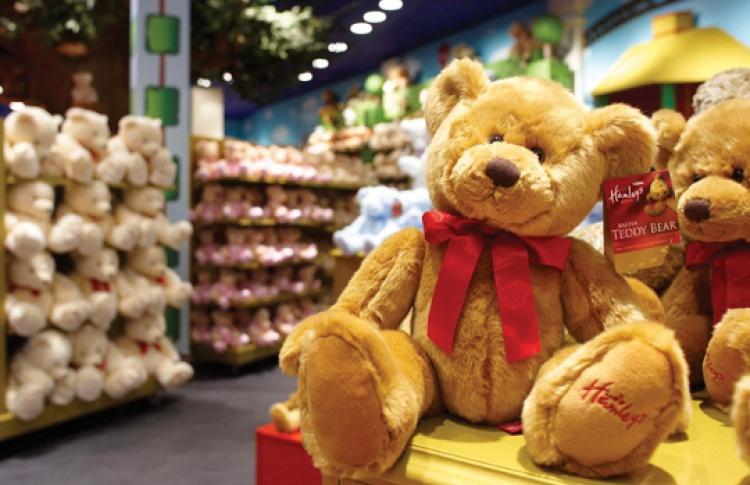 В«Европейском» открылся магазин игрушек Hamleys