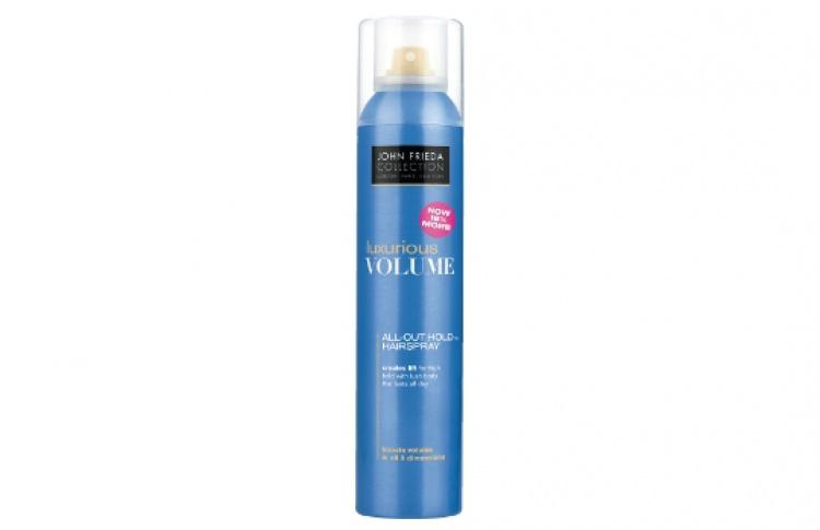 Новый лак для волос Luxurious Volume отJohn Frieda