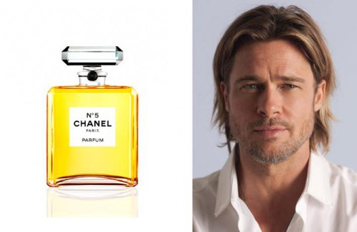 Новое лицо Chanel— голливудский актер Брэд Питт