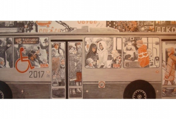 Последняя выставка галереи «М&ЮГельман» - Фото №1