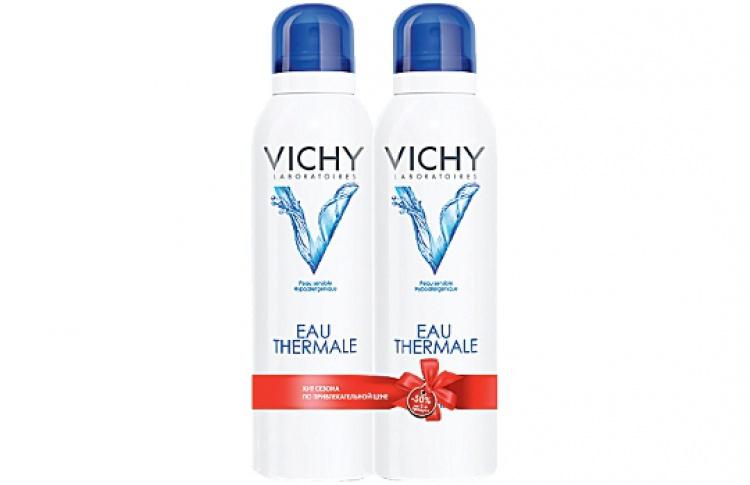 """Сеть аптек """"36,6"""" и Vichy снизили цену на термальную воду"""