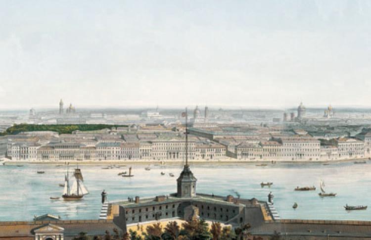 Небесная линия... Петербургские панорамы XVIII-XXI веков
