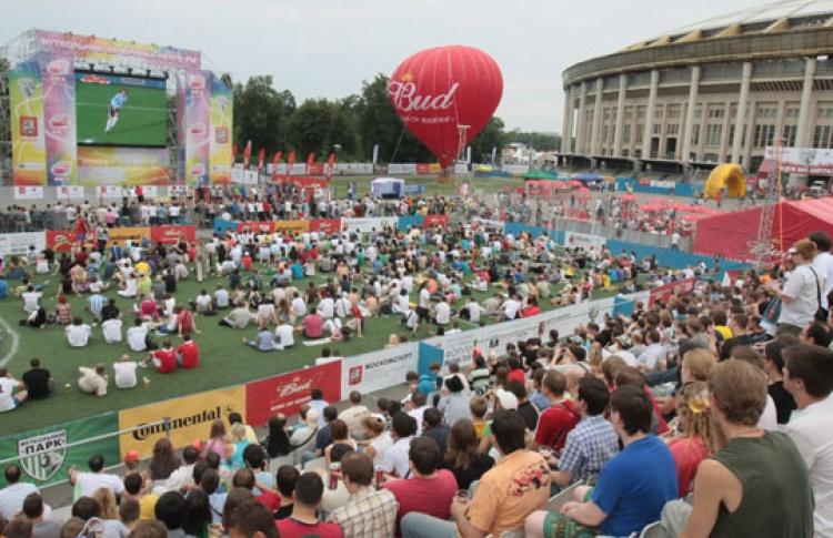 Футбольный парк в Лужниках