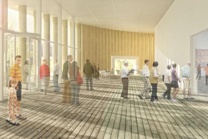 «Гараж» откроется вбумажном здании