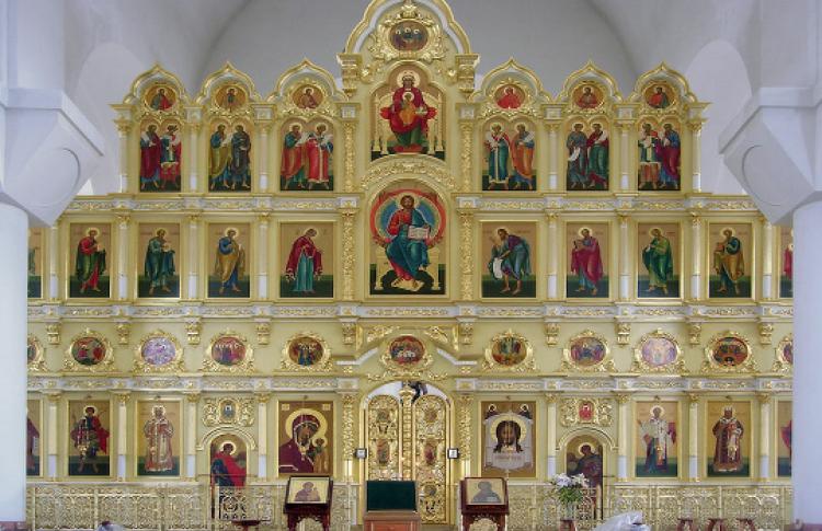 Плоский мир русского иконостаса