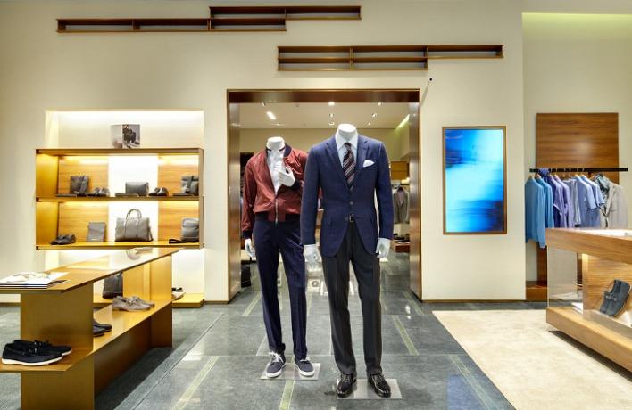В«Крокус Сити Молле» открылся бутик Ermenegildo Zegna