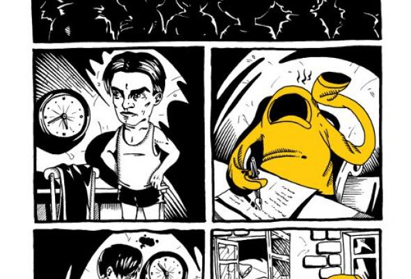 «Первый комикс янарисовал примерно вдесять лет.» - Фото №2