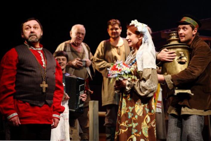 Гастроли театра «Красный факел»
