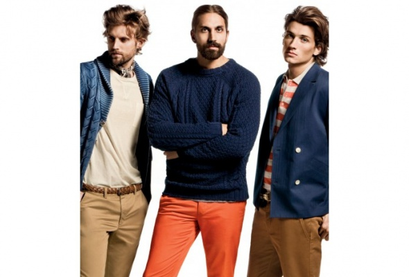 Бен Горхэм стал лицом рекламной кампании H&M - Фото №2