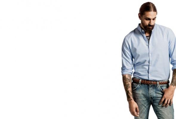 Бен Горхэм стал лицом рекламной кампании H&M - Фото №1