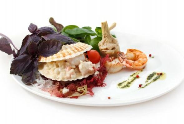 Меню с морепродуктами - Фото №0
