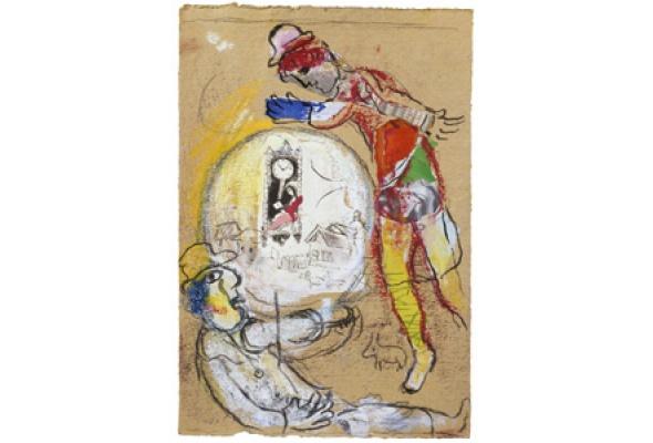 Марк Шагал. Истоки творческого языка художника - Фото №1
