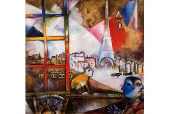 Третьяковка покажет редкие работы Марка Шагала - Фото №7