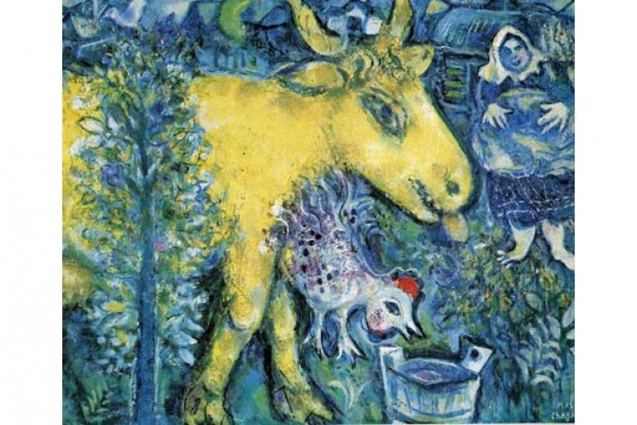 Третьяковка покажет редкие работы Марка Шагала