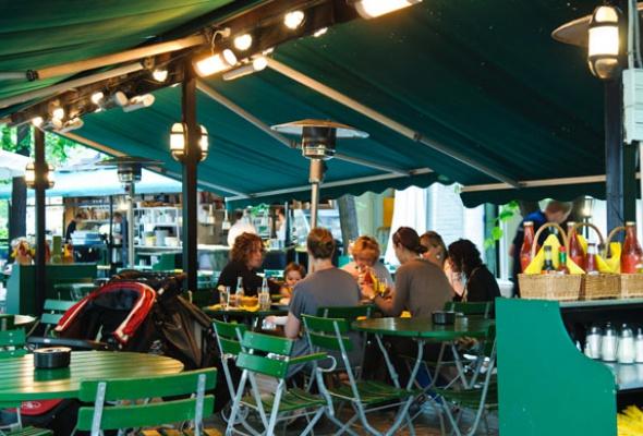 25лучших летних веранд кафе иресторанов - Фото №8