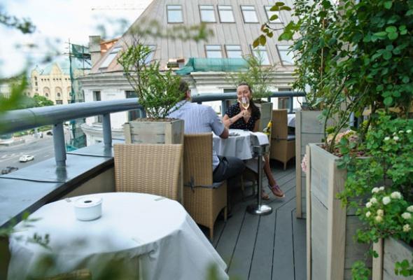 25лучших летних веранд кафе иресторанов - Фото №13