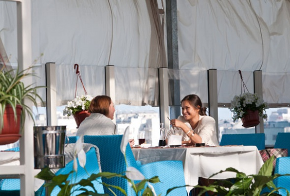 25лучших летних веранд кафе иресторанов - Фото №23