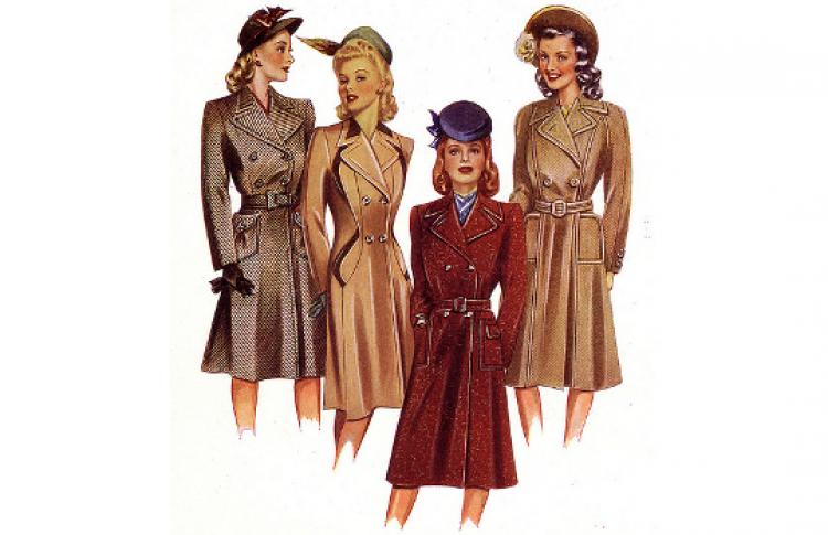 История моды XX века: 1940-е