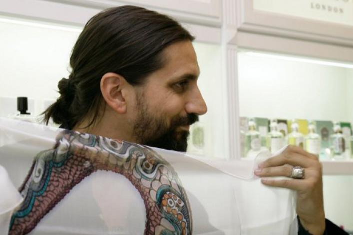 Бен Горхэм представил вМоскве новый аромат