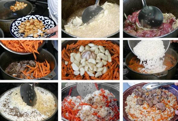 Рецепт: Узбекский плов - Фото №2