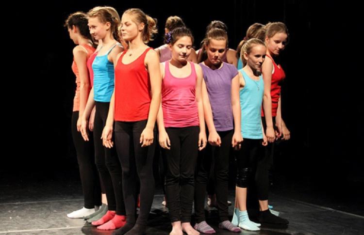 Детская танцевальная мастерская фестиваля Open Look