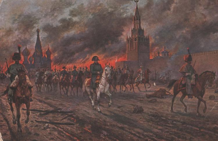 Москва 1812: до и после пожара