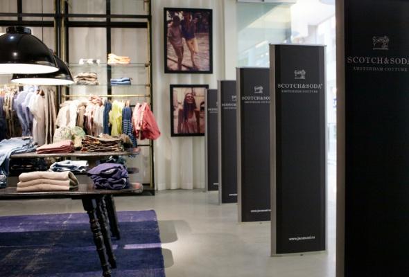 Первый вРоссии магазин Scotch&Soda открылся в«Метрополисе» - Фото №2