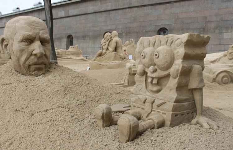 """XI Международный фестиваль песчаных скульптур """"Мульт-остров"""""""