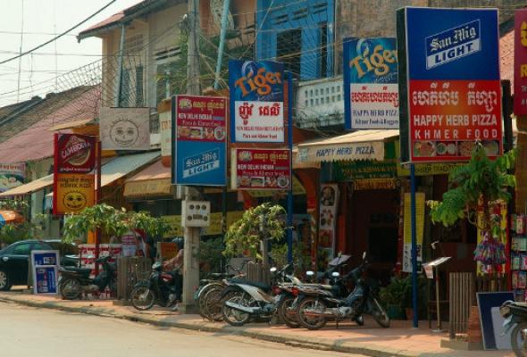 Камбоджа: Ангкор-Ват иПномпень - Фото №1