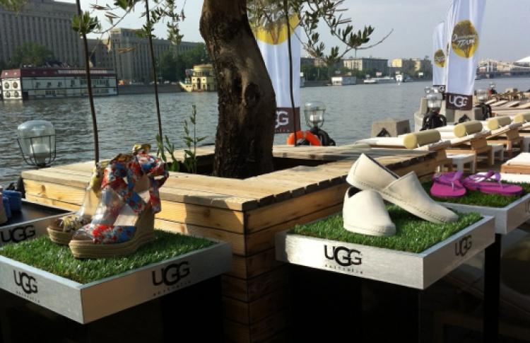 """UGG Australia проведет каникулы на """"Оливковом пляже"""""""