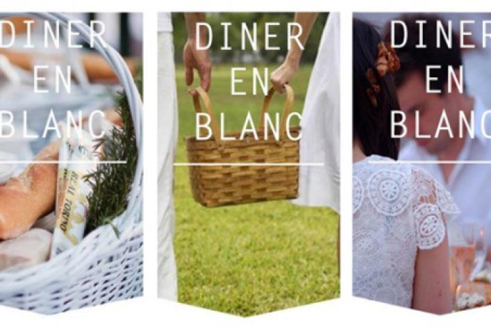 Французский флешмоб Diner enBlanc в«Тайге»