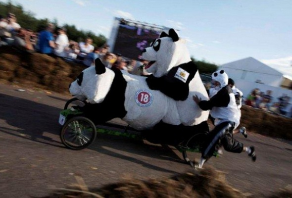 Шоу Red Bull Soapbox Race прошло вКрылатском - Фото №0