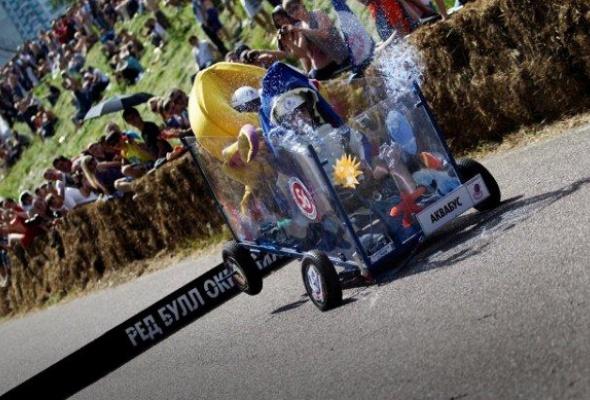 Шоу Red Bull Soapbox Race прошло вКрылатском - Фото №2
