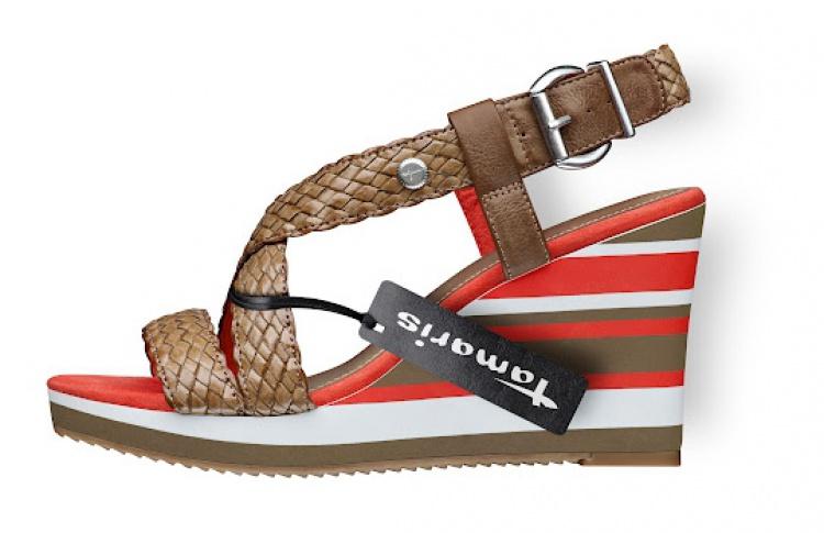 Обувной магазин Tamaris объявил сезон скидок