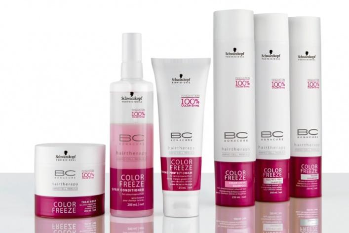 Коллекция для окрашенных волос BСColor Freeze отSchwarzkopf Professional