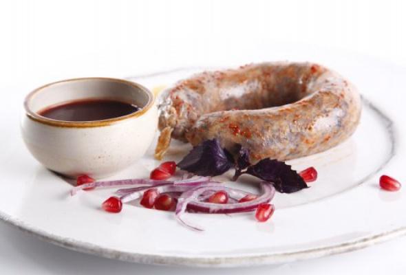 Свежие летние блюда в Cafe Saperavi - Фото №1