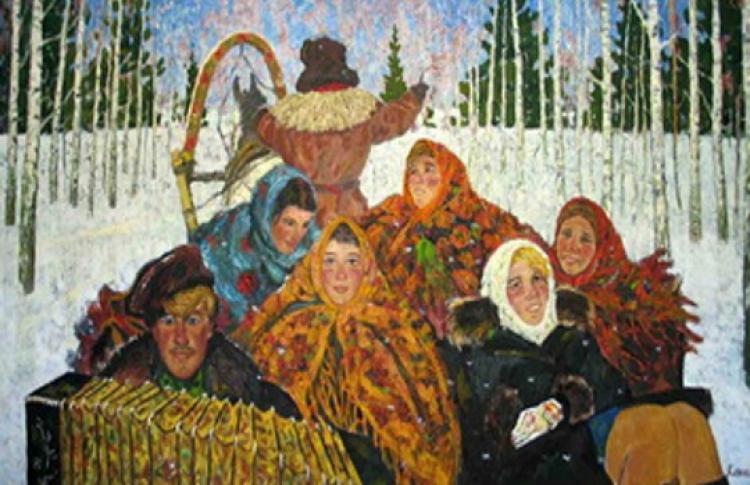 Выставка памяти художника Олега Клюкина