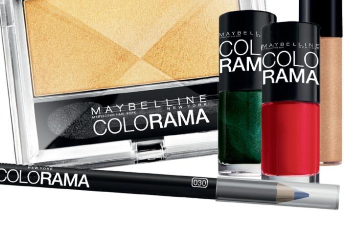 Новая коллекция Colorama отMaybelline