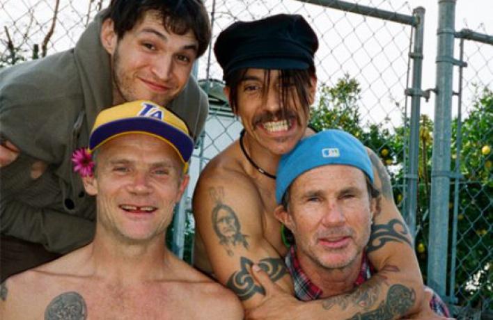 Выиграй личную встречу сгруппой Red Hot Chili Peppers!